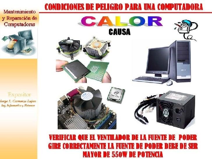 PELIGROS DE UNA COMPUTADORA Slide 2