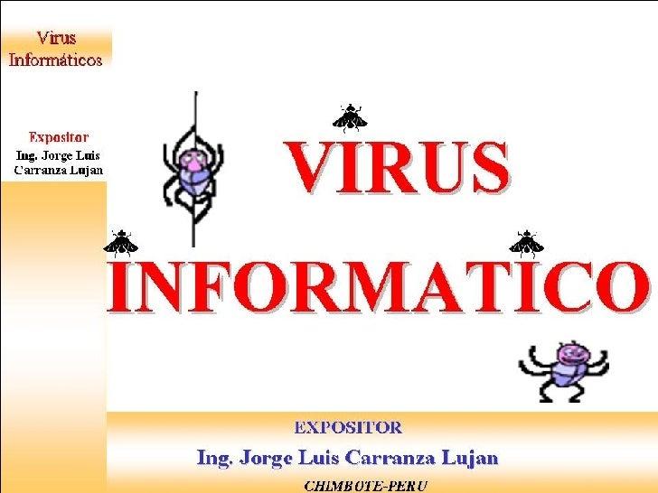 VIRUS INFORMATICO Slide 1