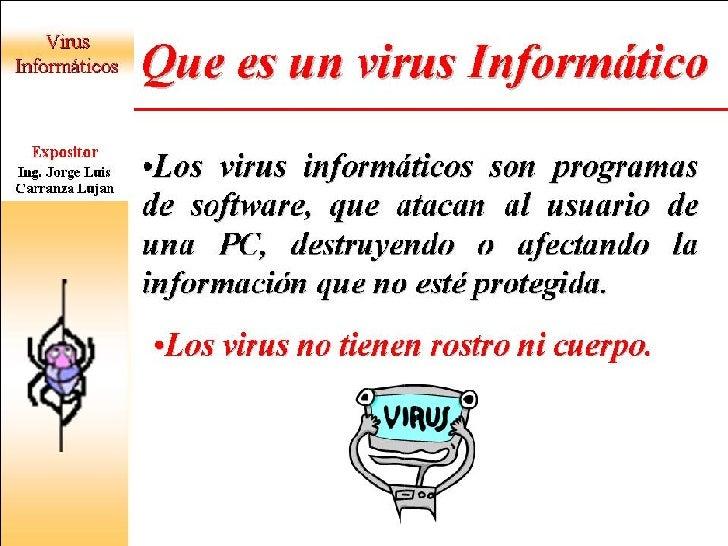 VIRUS INFORMATICO Slide 2
