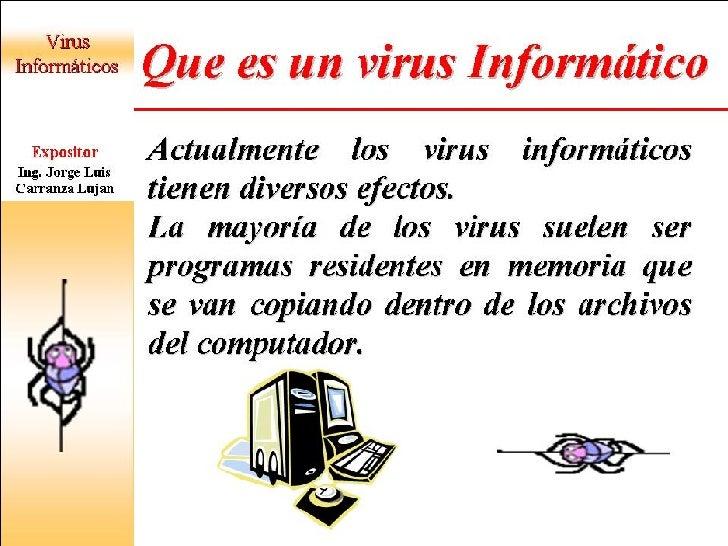 VIRUS INFORMATICO Slide 3