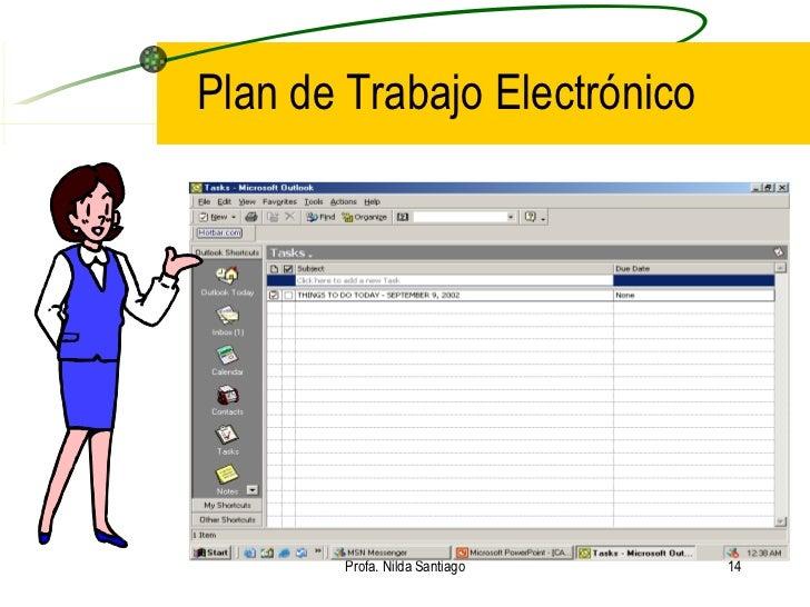 Planificaci n del trabajo diarioi for Oficina electronica de empleo