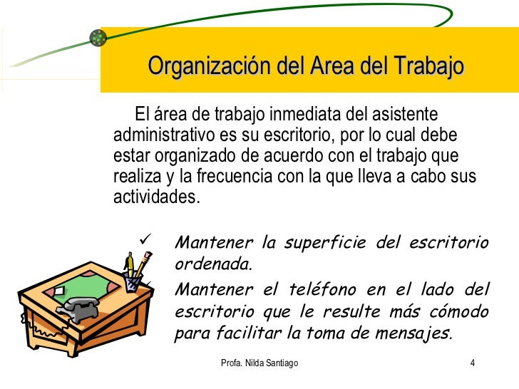 Planificaci n del trabajo diarioi for Direccion de la oficina