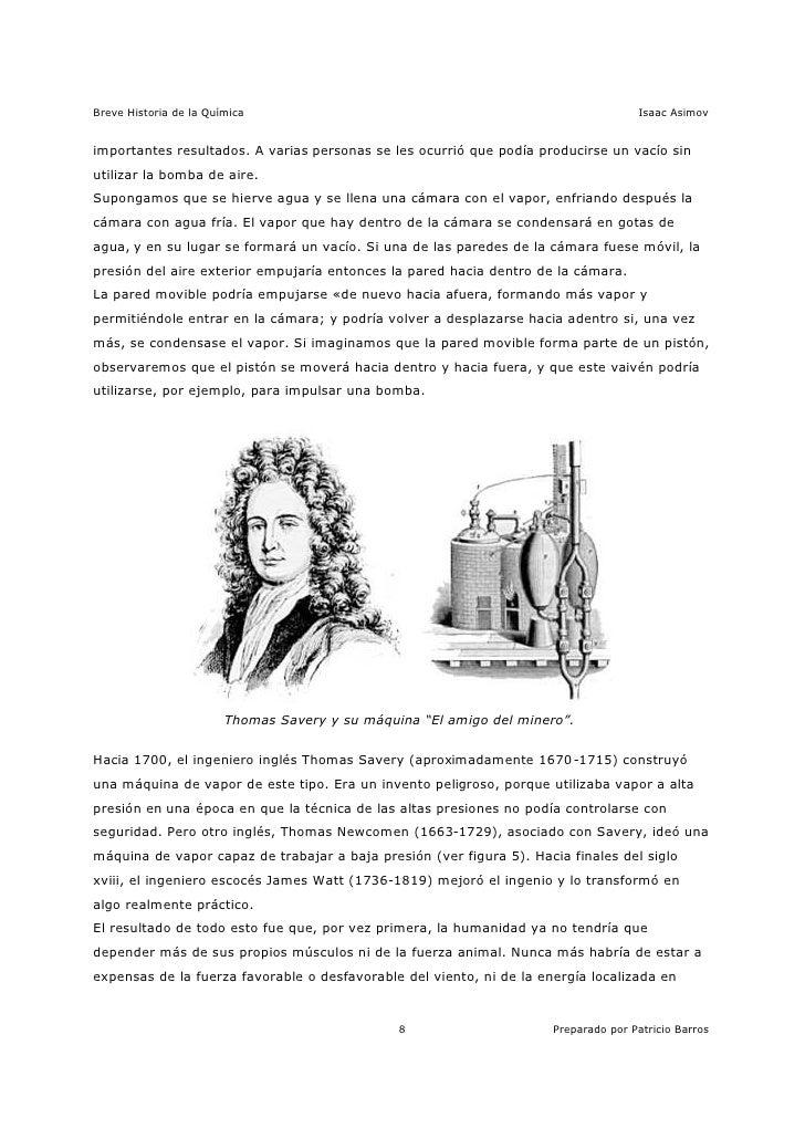 Asimov - Breve Historia de la Química 4/15