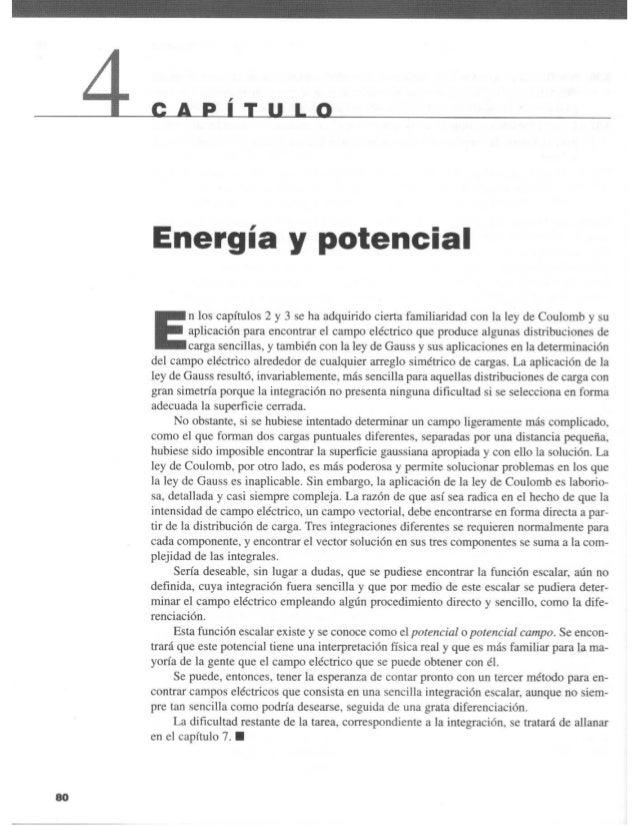 Capitulo 04   energía y potencial