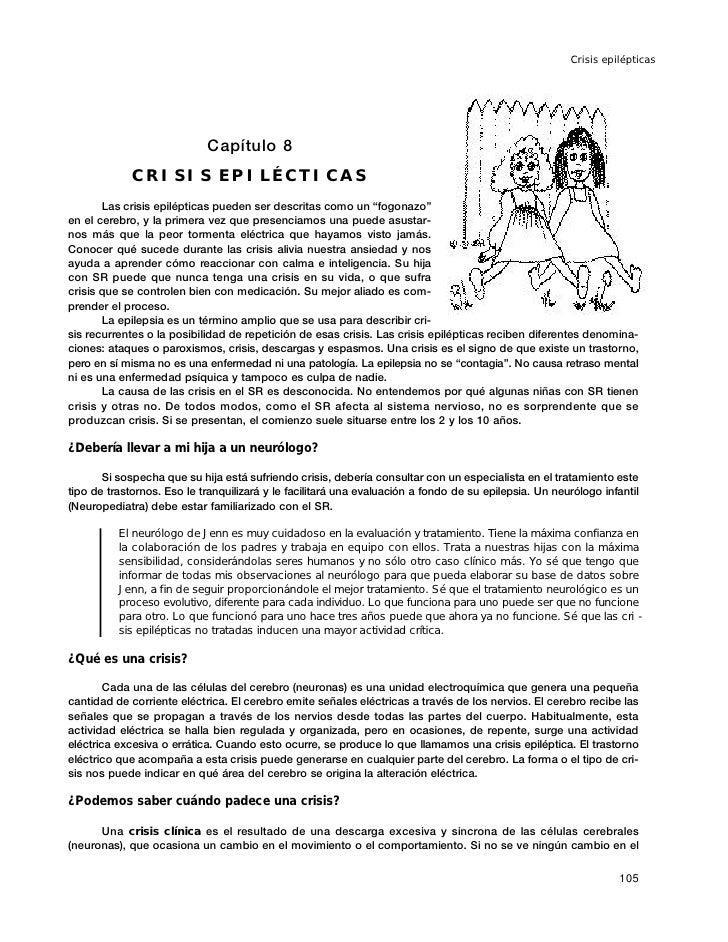 Crisis epilépticas                                 Capítulo 8              CRISIS EPILÉCTICAS        Las crisis epiléptica...