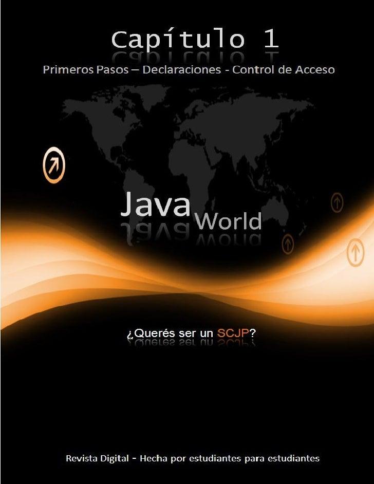 Java World – Capítulo 1    2                                                                                              ...