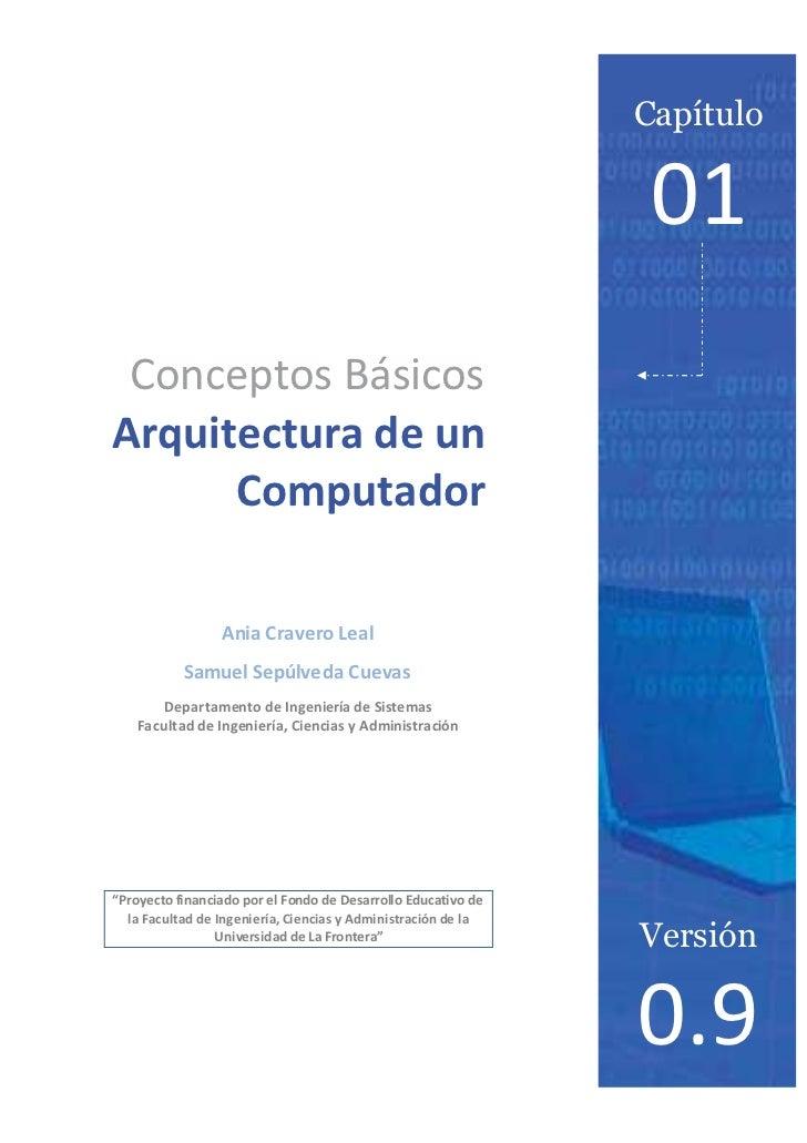 Capítulo                                                              01 Conceptos BásicosArquitectura de un      Computad...