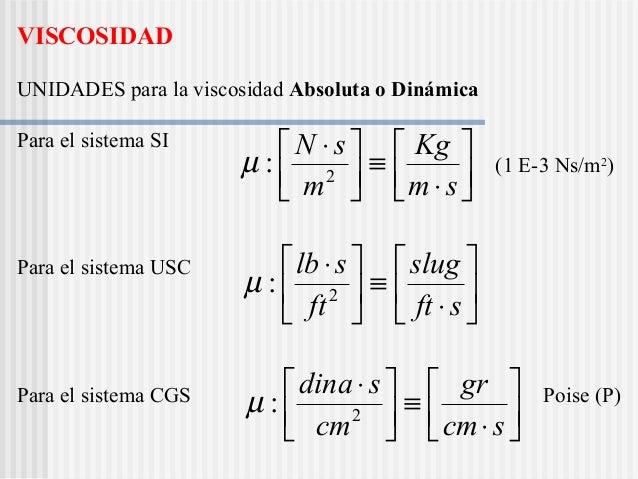 Capitulo1 fluidos - Conversion ca en m2 ...