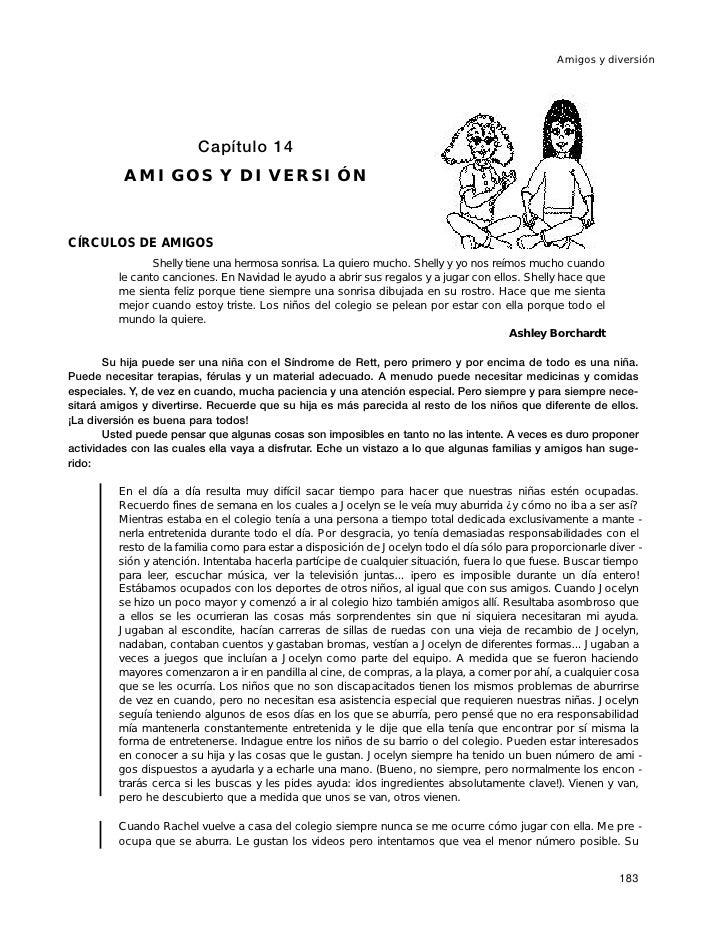 Amigos y diversión                              Capítulo 14           AMIGOS Y DIVERSIÓN   CÍRCULOS DE AMIGOS             ...