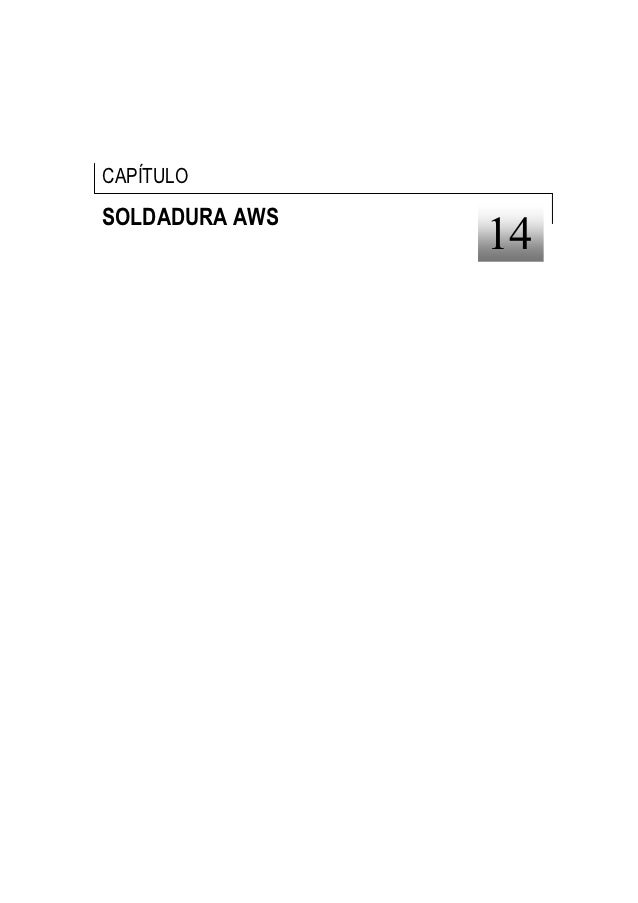 CAPÍTULOSOLDADURA AWS                14