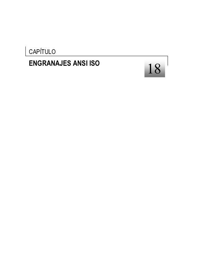 CAPÍTULOENGRANAJES ANSI ISO                      18