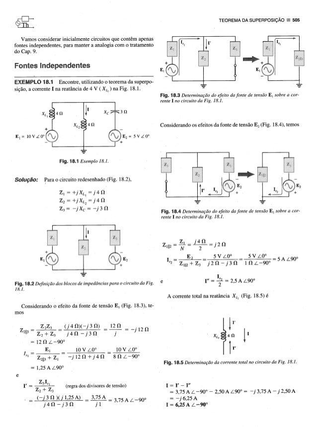 Teoria dos circuitos - Capitulo 18 Slide 2
