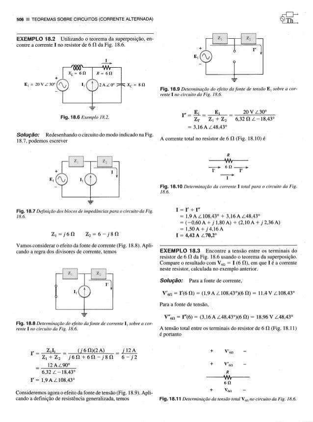 Teoria dos circuitos - Capitulo 18 Slide 3
