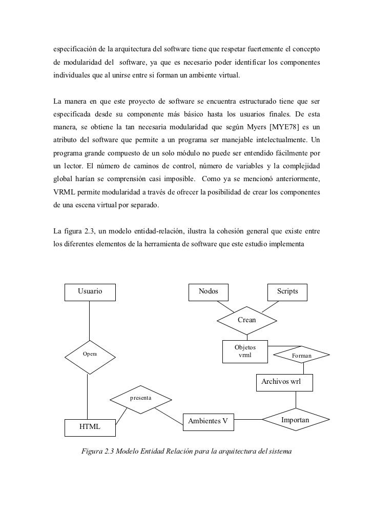 especificación de la arquitectura del software tiene que respetar fuertemente el conceptode modularidad del software, ya q...