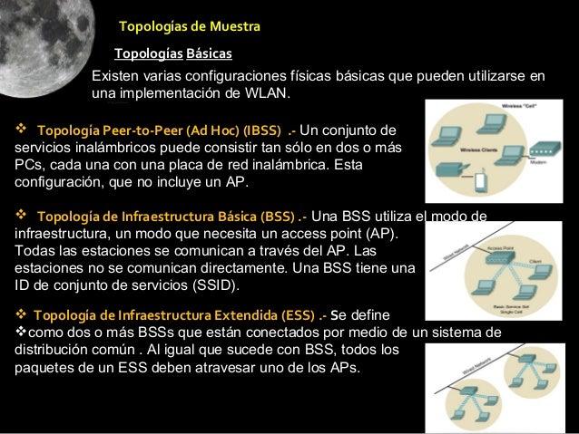 Topologías de Muestra               Topologías Básicas           Existen varias configuraciones físicas básicas que pueden...