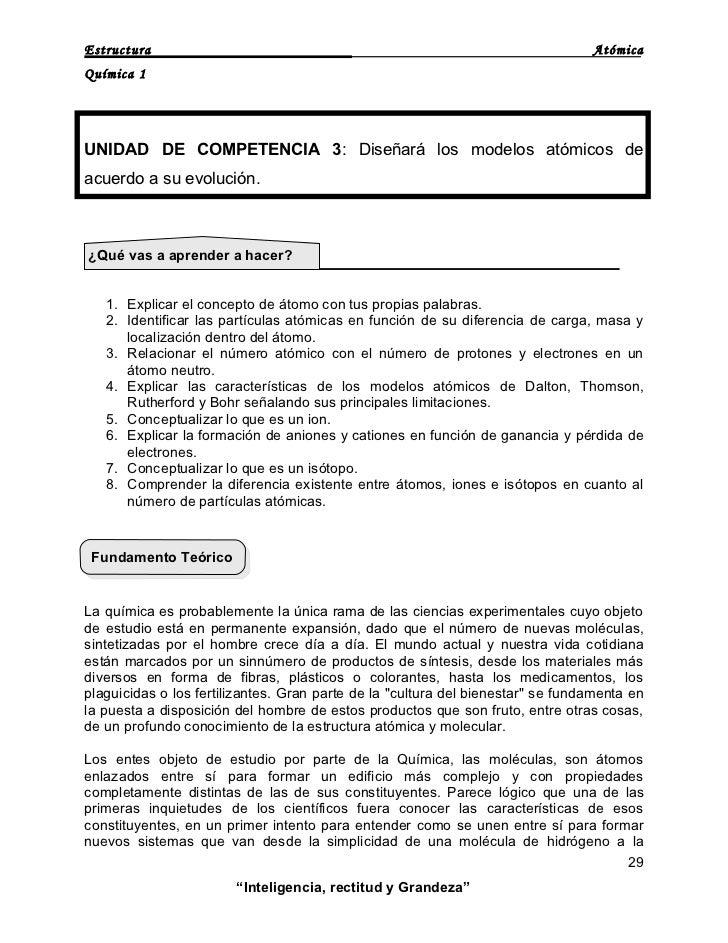 ESTRUCTURA ATÓMICA Slide 2