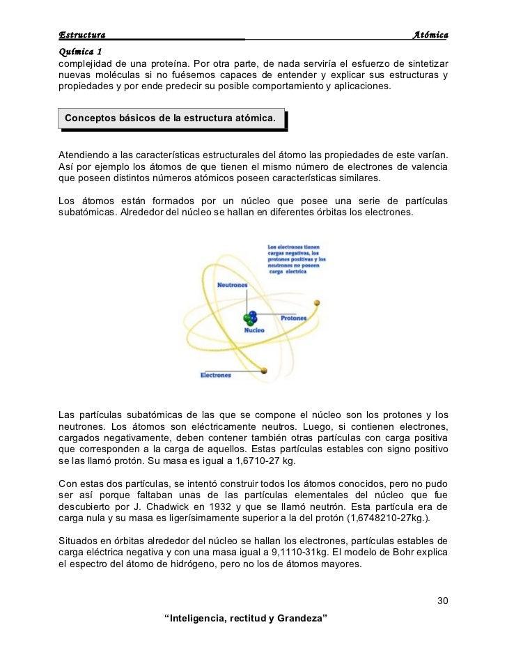 ESTRUCTURA ATÓMICA Slide 3