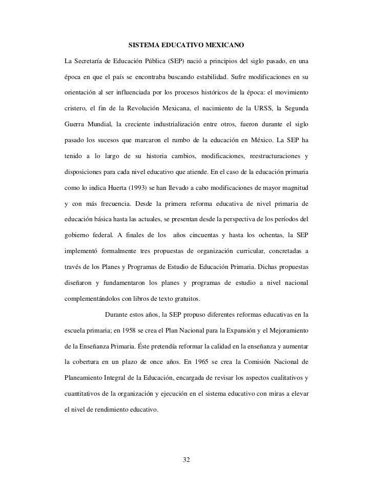 SISTEMA EDUCATIVO MEXICANOLa Secretaría de Educación Pública (SEP) nació a principios del siglo pasado, en unaépoca en que...