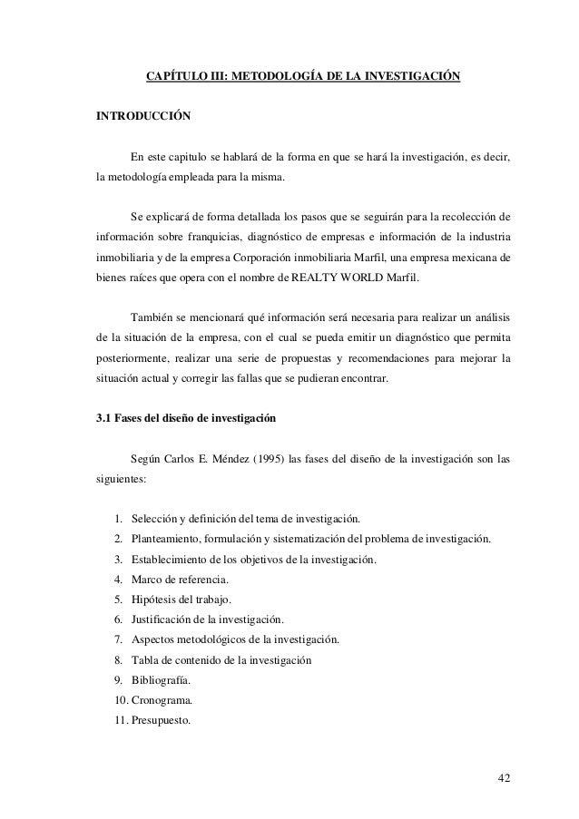 CAPÍTULO III: METODOLOGÍA DE LA INVESTIGACIÓN  INTRODUCCIÓN  En este capitulo se hablará de la forma en que se hará la inv...