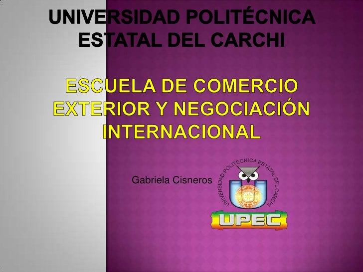 Gabriela Cisneros