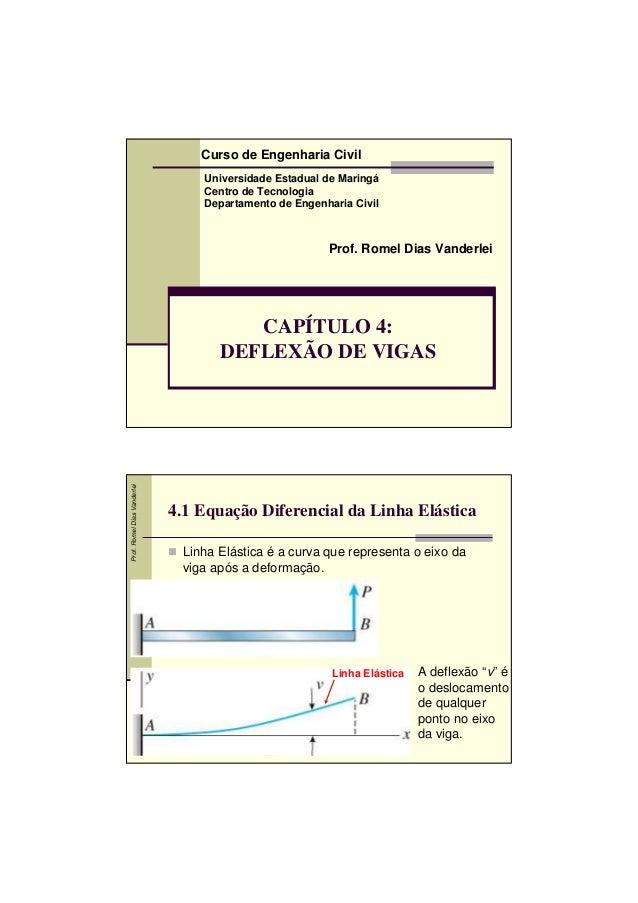 Curso de Engenharia Civil                                 Universidade Estadual de Maringá                                ...