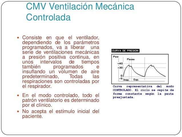 Asistencia mec nica ventilatoria en pacientes con tce - Ventilacion mecanica controlada ...