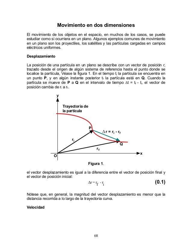 Movimiento en dos dimensiones El movimiento de los objetos en el espacio, en muchos de los casos, se puede estudiar como s...