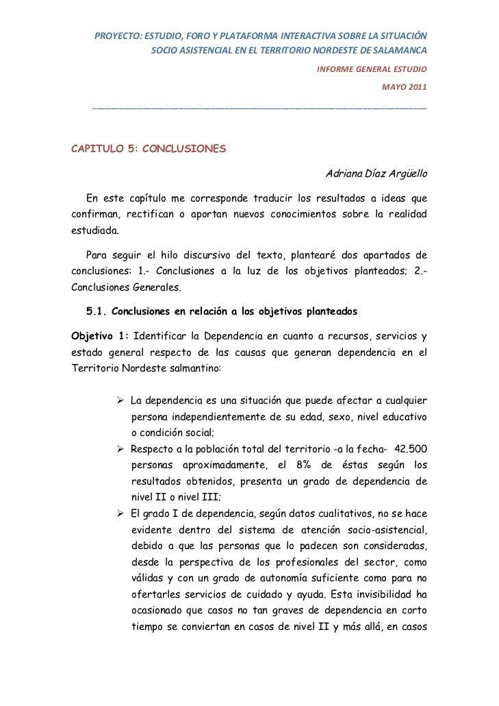 PROYECTO:ESTUDIO,FOROYPLATAFORMAINTERACTIVASOBRELASITUACIÓN                SOCIOASISTENCIALENELTERRITORIONOR...