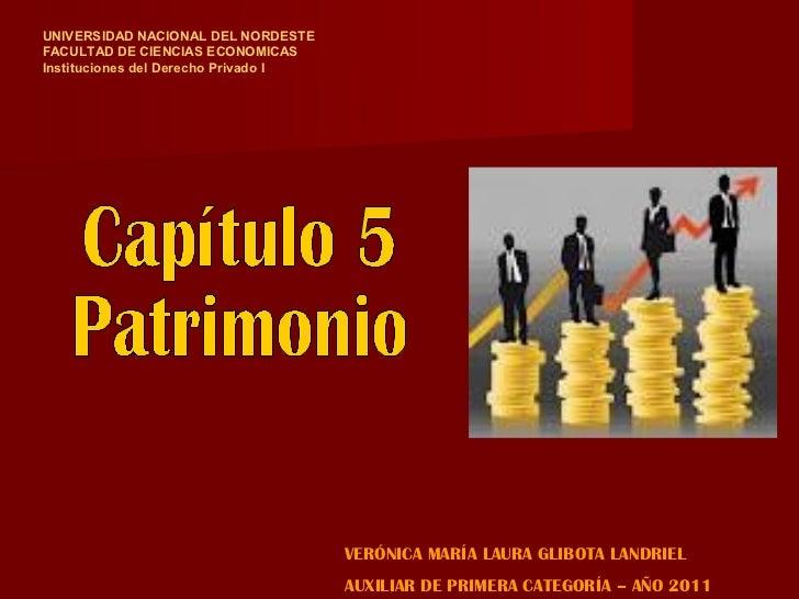 UNIVERSIDAD NACIONAL DEL NORDESTEFACULTAD DE CIENCIAS ECONOMICASInstituciones del Derecho Privado I                       ...