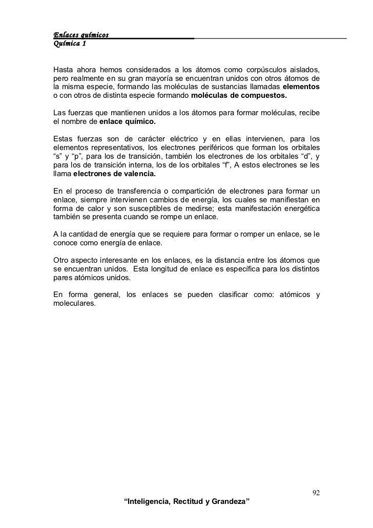 ENLACES QUÍMICOS Slide 3