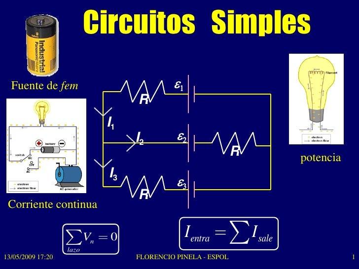 Circuito Simples : Circuitos resistivos física c espol