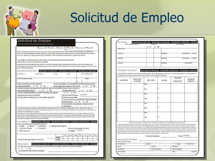 capitulo 7 la solicitud de empleo