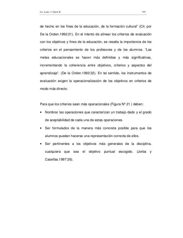 Lic. Laura J. García R.                                                        393     de hecho en los fines de la educaci...