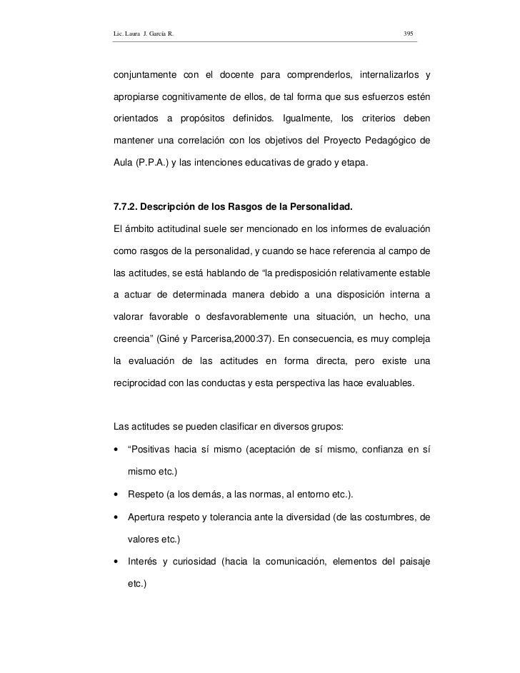 Lic. Laura J. García R.                                              395     conjuntamente con el docente para comprenderl...