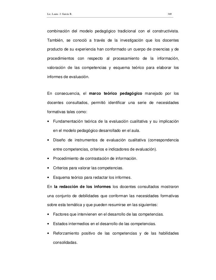 Lic. Laura J. García R.                                               369     combinación del modelo pedagógico tradiciona...