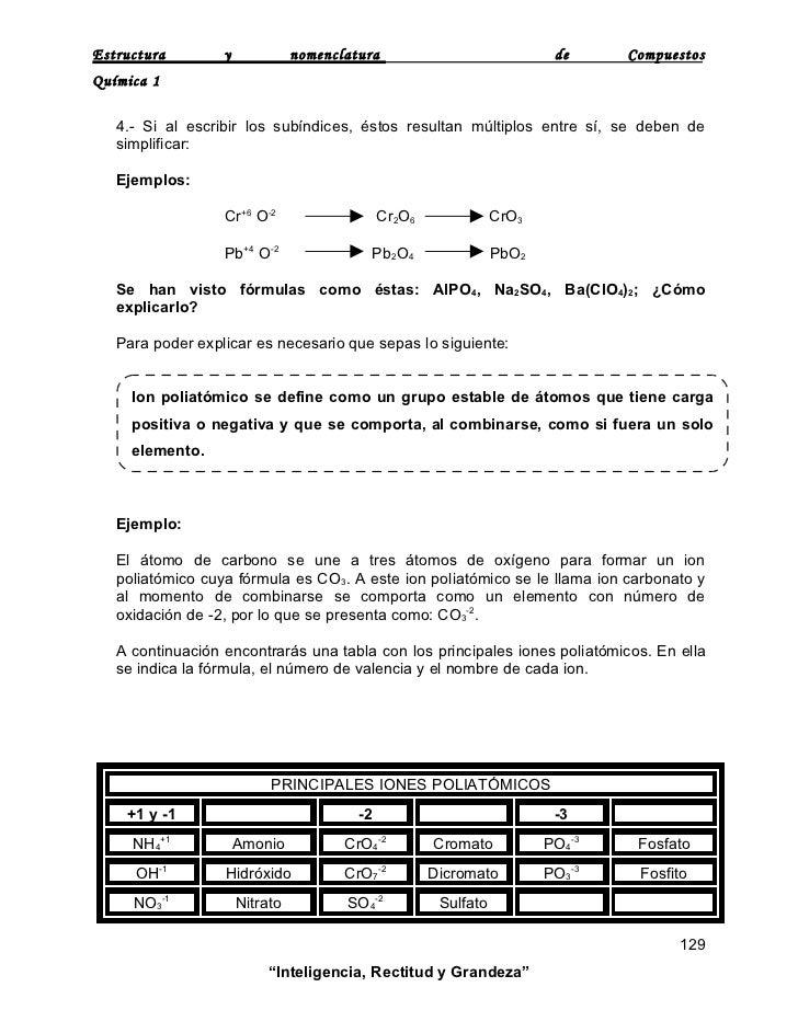 Estructura y nomenclatura de compuestos 7 urtaz Images