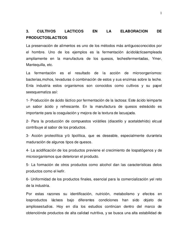 13.     CULTIVOS              LACTICOS            EN          LA        ELABORACION           DEPRODUCTOSLACTEOSLa preserv...