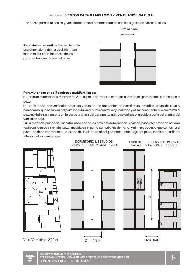 RNE GRAFICO A100 Capitulo iii separacion entre ...