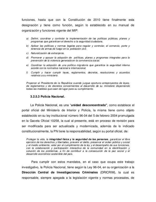 Sistema nacional de inteligencia de rep blica dominicana for Porte y tenencia de armas de fuego en republica dominicana