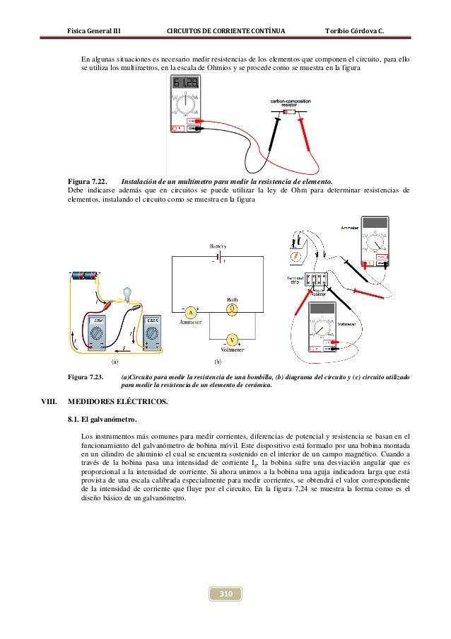 Circuito Que Tenga Un Interruptor Una Pila Y Una Bombilla : Circuitos de corriente continua