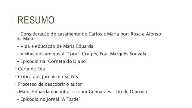 MAIAS RESUMO EBOOK DOWNLOAD