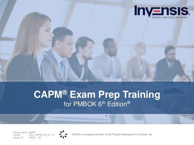 Capm Exam Prep Course Preview
