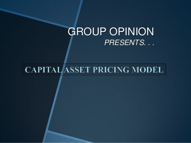 GROUP OPINION PRESENTS. . .
