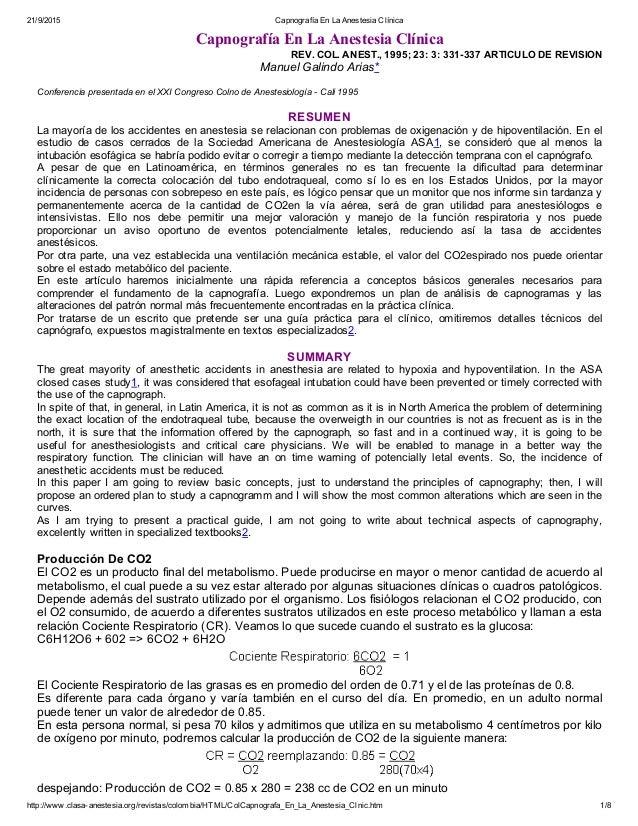 21/9/2015 CapnografíaEnLaAnestesiaClínica http://www.clasaanestesia.org/revistas/colombia/HTML/ColCapnografa_En_La_An...
