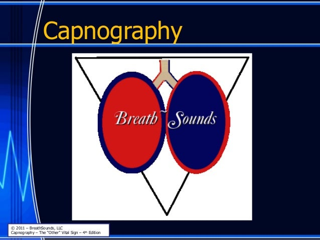 """Capnography © 2011 – BreathSounds, LLC Capnography – The """"Other"""" Vital Sign – 4th Edition"""