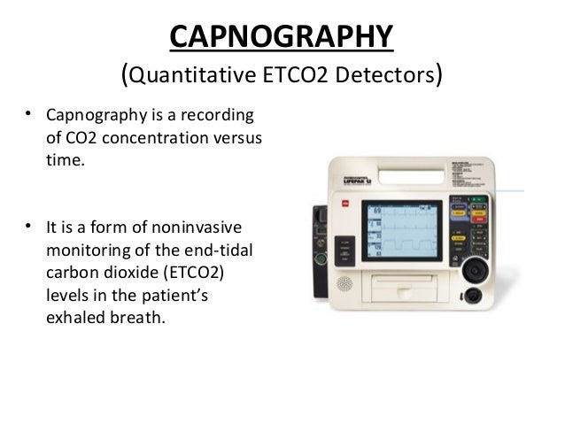Capnography vs plethysmography