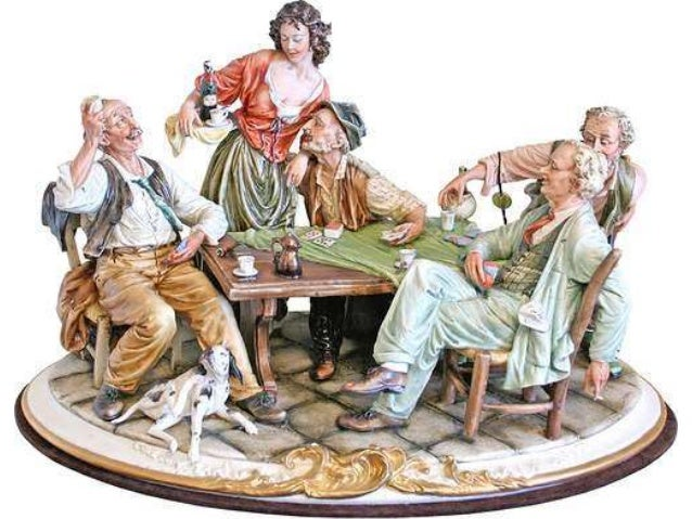 English To Italian Translator Google: Capodimonte, Italian Finest Porcelain (Figures