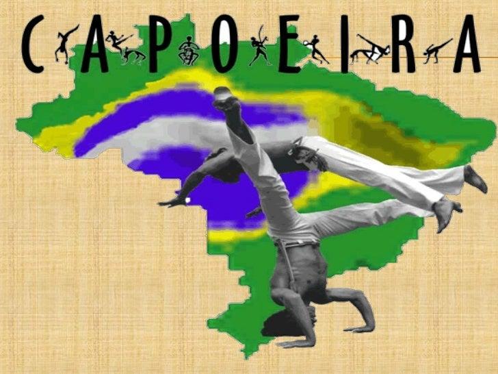 A capoeira constituiu-se no Brasil por meio dos negros escravizadosprovenientes da África Ocidental, que trouxeram consigo...