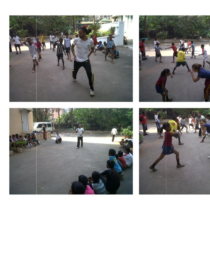 Capoeira workshop for dharavi kids 06 march 2011