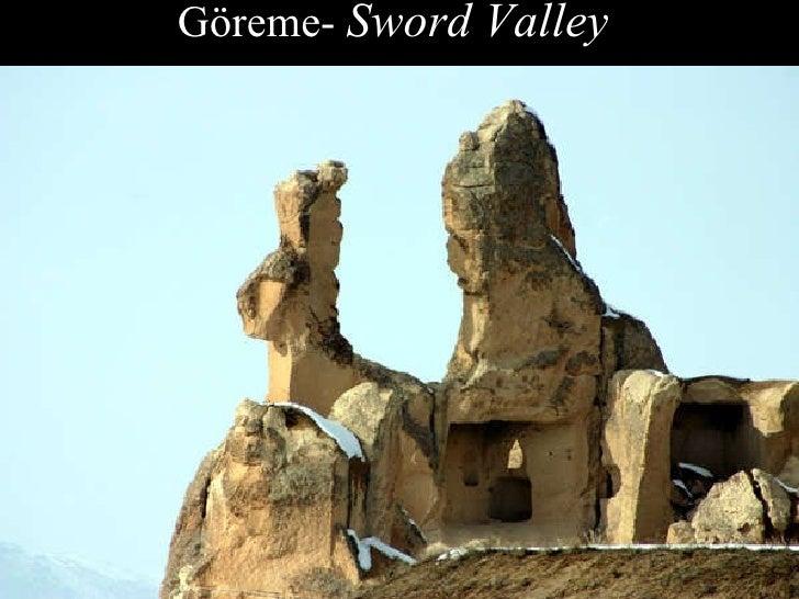 Göreme-  Sword Valley
